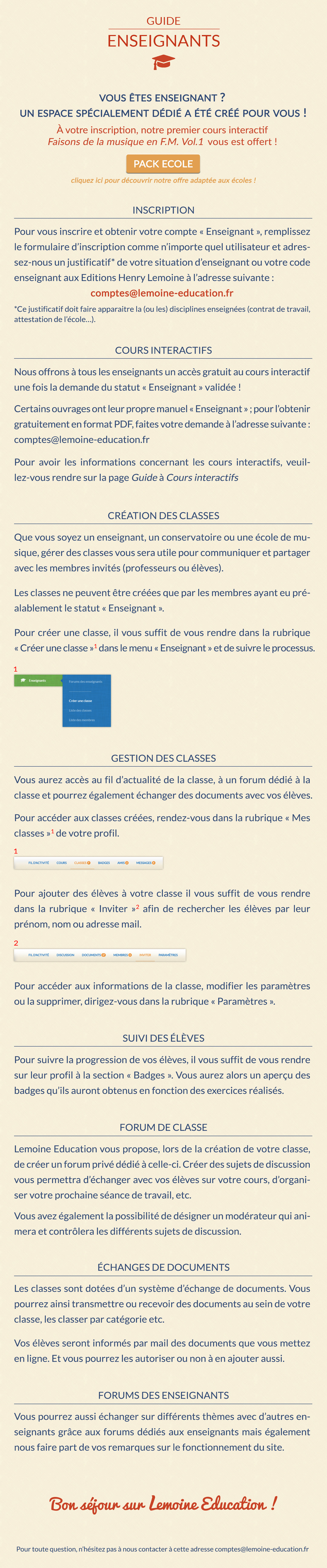 Guide - Enseignants 3